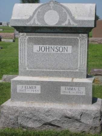 JOHNSON, EMMA L - Mills County, Iowa   EMMA L JOHNSON