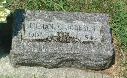 JOHNSON, LILLIAN G. - Mills County, Iowa | LILLIAN G. JOHNSON