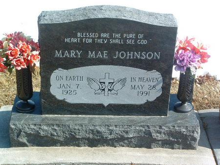 JOHNSON, MARY MAE - Mills County, Iowa | MARY MAE JOHNSON