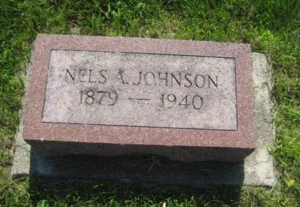 JOHNSON, NELS A. - Mills County, Iowa | NELS A. JOHNSON