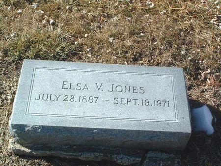 JONES, ELSA V. - Mills County, Iowa | ELSA V. JONES
