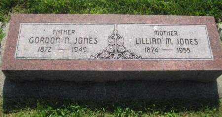 JONES, LILLIAN - Mills County, Iowa   LILLIAN JONES