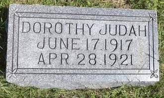 JUDAH, DOROTHY - Mills County, Iowa   DOROTHY JUDAH
