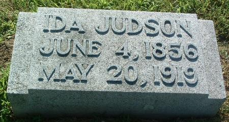 JUDSON, IDA - Mills County, Iowa   IDA JUDSON