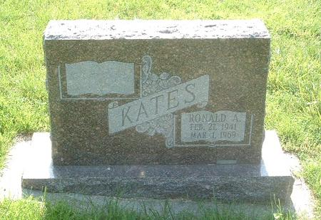 KATES, RONALD A. - Mills County, Iowa | RONALD A. KATES