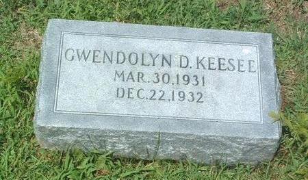 KEESEE, GWENDOLYN D. - Mills County, Iowa | GWENDOLYN D. KEESEE