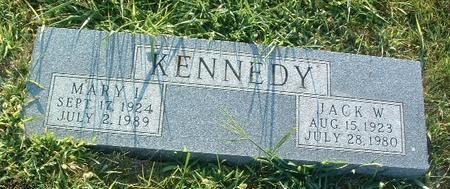 KENNEDY, MARY I. - Mills County, Iowa | MARY I. KENNEDY
