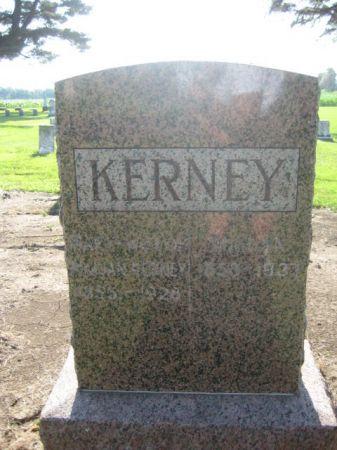 KERNEY, MARY - Mills County, Iowa   MARY KERNEY