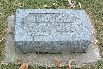 KIER, NORA - Mills County, Iowa | NORA KIER