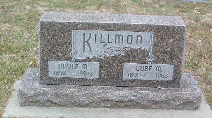 KILLMON, COBE M. - Mills County, Iowa | COBE M. KILLMON