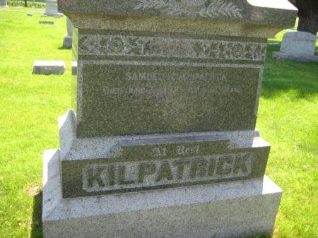 KILPATRICK, MONUMENT - Mills County, Iowa | MONUMENT KILPATRICK