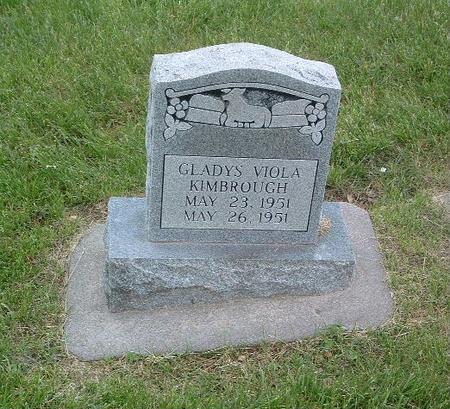 KIMBROUGH, GLADYS VIOLA - Mills County, Iowa | GLADYS VIOLA KIMBROUGH