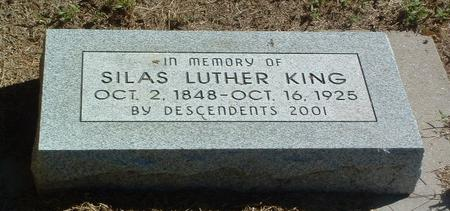 KING, SILAS LUTHER - Mills County, Iowa | SILAS LUTHER KING