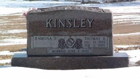 KINGSLEY, THOMAS E. - Mills County, Iowa | THOMAS E. KINGSLEY