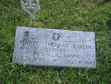 KIRLIN, HARRY THOMAS - Mills County, Iowa | HARRY THOMAS KIRLIN
