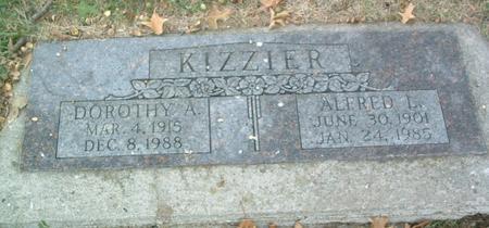 KIZZIER, DOROTHY A. - Mills County, Iowa | DOROTHY A. KIZZIER