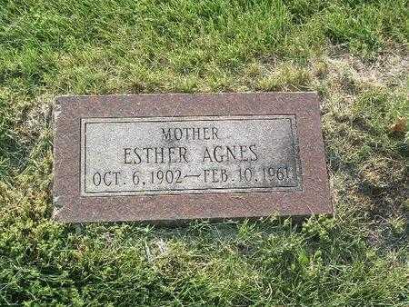 KIZZIER, ESTHER AGNES - Mills County, Iowa | ESTHER AGNES KIZZIER