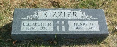 KIZZIER, ELIZABETH M. - Mills County, Iowa | ELIZABETH M. KIZZIER