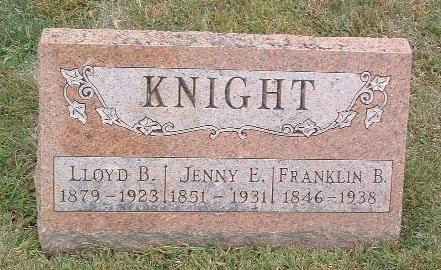 KNIGHT, JENNY E. - Mills County, Iowa | JENNY E. KNIGHT