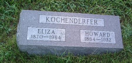 KOCHENDERFER, HOWARD - Mills County, Iowa   HOWARD KOCHENDERFER