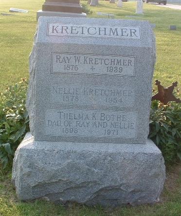 KRETCHMER, RAY W. - Mills County, Iowa | RAY W. KRETCHMER