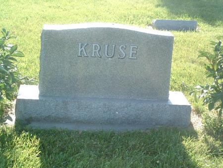 KRUSE, FAMILY HEADSTONE - Mills County, Iowa | FAMILY HEADSTONE KRUSE