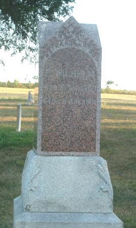KRUSE, F. WILHELM - Mills County, Iowa | F. WILHELM KRUSE