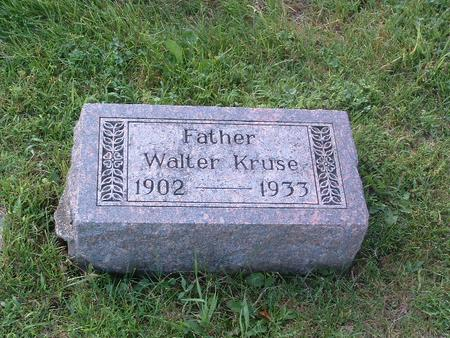 KRUSE, WALTER - Mills County, Iowa | WALTER KRUSE