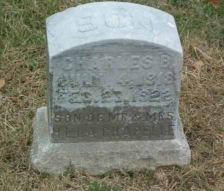 LACHAPELLE, CHARLES B. - Mills County, Iowa | CHARLES B. LACHAPELLE