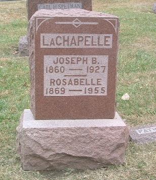 LACHAPELLE, ROSABELLE - Mills County, Iowa | ROSABELLE LACHAPELLE