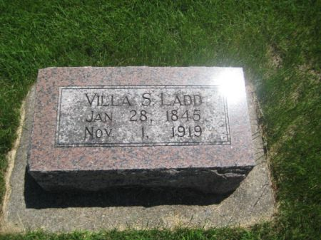LADD, VILLA S. - Mills County, Iowa | VILLA S. LADD