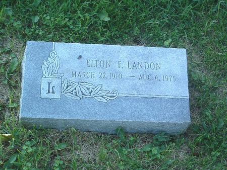 LANDON, ELTON F. - Mills County, Iowa | ELTON F. LANDON