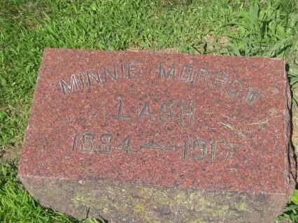 MORROW LASH, MINNIE - Mills County, Iowa | MINNIE MORROW LASH