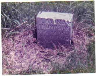 THOMPSON, LAVINA - Mills County, Iowa | LAVINA THOMPSON