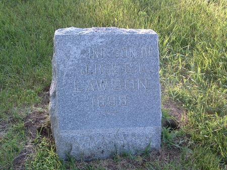 LAWSON, INFANT SON - Mills County, Iowa | INFANT SON LAWSON