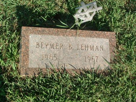 LEHAM, BEYMER B. - Mills County, Iowa | BEYMER B. LEHAM