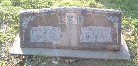 LEU, ROBERT E.A. - Mills County, Iowa | ROBERT E.A. LEU