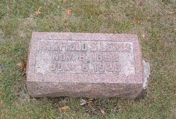 LEWIS, WINFIELD S. - Mills County, Iowa | WINFIELD S. LEWIS