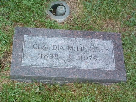 LIERLEY, CLAUDIA M. - Mills County, Iowa | CLAUDIA M. LIERLEY