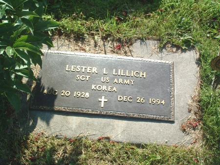 LILLICH, LESTER L. - Mills County, Iowa   LESTER L. LILLICH