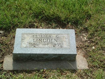 LINCOLN, ESTELLA S. - Mills County, Iowa | ESTELLA S. LINCOLN