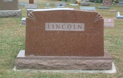 LINCOLN, FAMILY HEADSTONE - Mills County, Iowa | FAMILY HEADSTONE LINCOLN