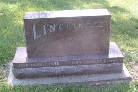 LINCOLN, ROSE C. - Mills County, Iowa | ROSE C. LINCOLN