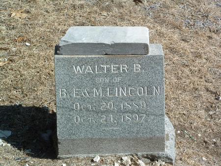 LINCOLN, WALTER B. - Mills County, Iowa | WALTER B. LINCOLN