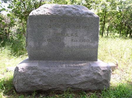 LINVILLLE, URSULA SUBLETTE - Mills County, Iowa | URSULA SUBLETTE LINVILLLE