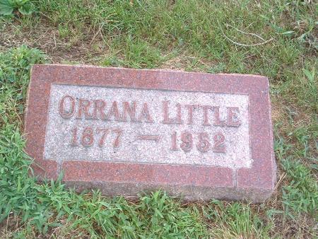 LITTLE, ORRANA - Mills County, Iowa | ORRANA LITTLE