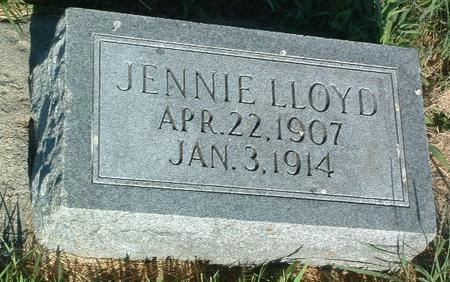 LLOYD, JENNIE - Mills County, Iowa | JENNIE LLOYD