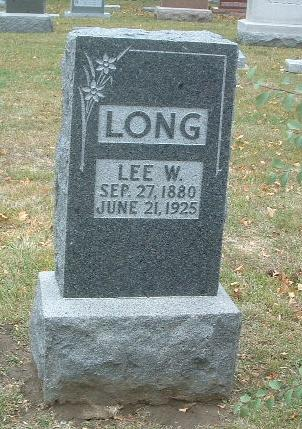 LONG, LEE W. - Mills County, Iowa | LEE W. LONG