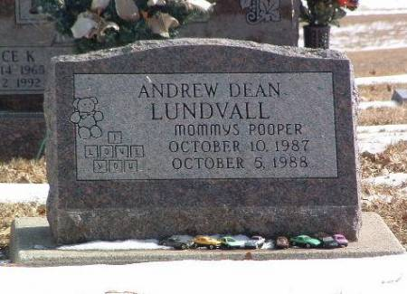 LUNDVALL, ANDREW DEAN - Mills County, Iowa | ANDREW DEAN LUNDVALL