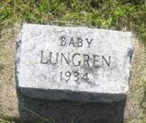 LUNGREN, BABY - Mills County, Iowa | BABY LUNGREN